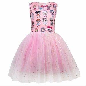NWT Girls LOL Surprise Dolls Dress